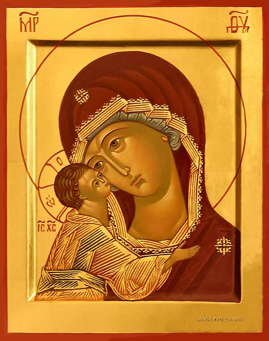 Icon of Mother-of-God